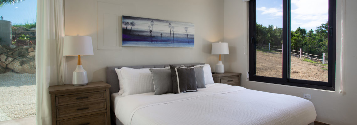 Beach House luxury villa Limestone Bay Anguilla Bedroom