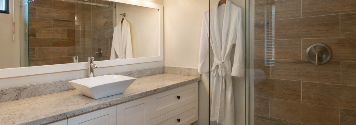Beach House luxury villa Limestone Bay Anguilla Bathroom