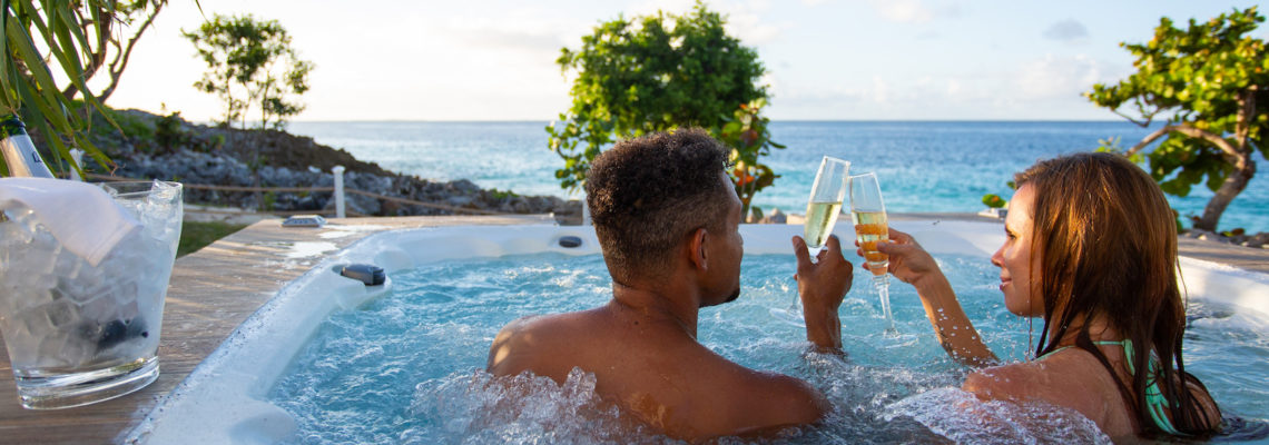 Beach House luxury villa Limestone Bay Anguilla Jaccuzi
