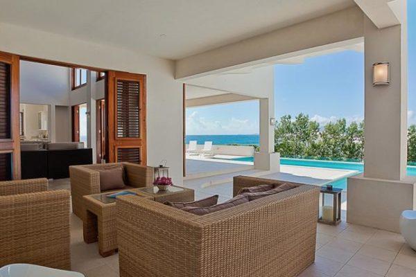 3 bedroom luxury villa for rent in Anguilla White Cedars
