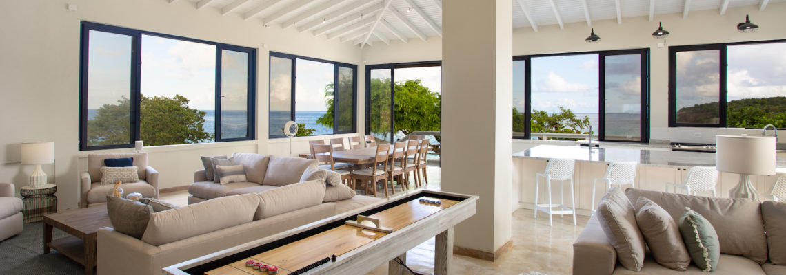 Beach House in Limestone Bay, Anguilla - luxury 3 bed villa for rent