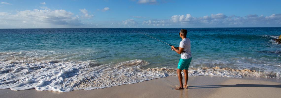 Beach House luxury villa Limestone Bay Anguilla Beach Fishing
