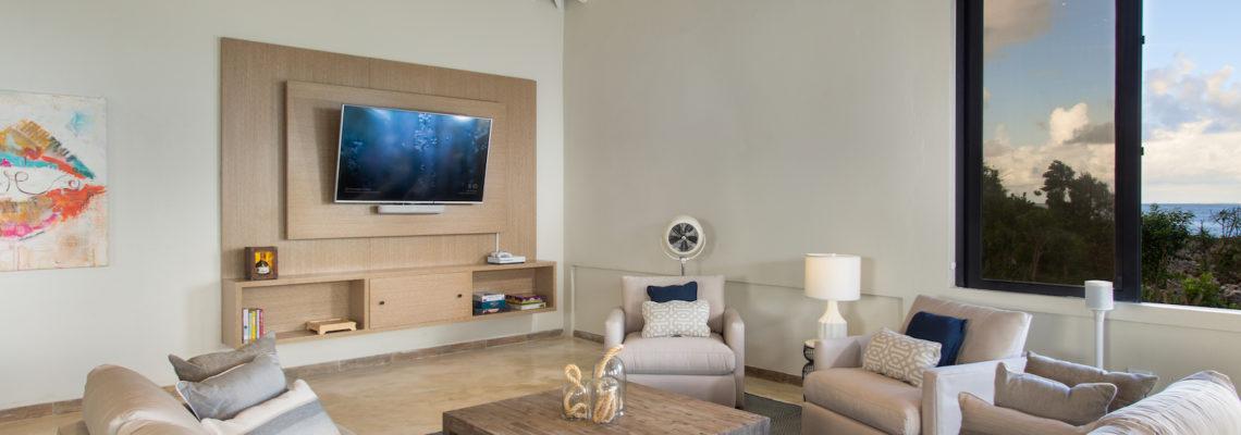 Beach House luxury villa Limestone Bay Anguilla Living Room