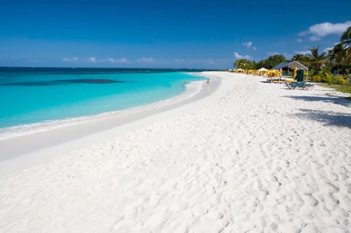 Rrendezvous Bay beach in Anguilla